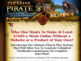 Go to: CB Pirate - Average Rebills Are Incredible!