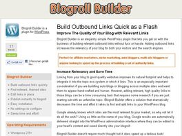 Go to: Blogroll Builder - WordPress Plugin for blog marketers