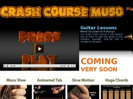 Go to: Crash Course Beginners Guitar Lessons