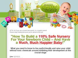 Go to: Green Baby Nursery - Constantly Split Testing To Make You More Money