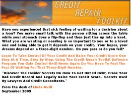 Go to: A Credit Repair Toolkit.