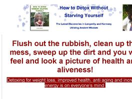 Go to: How To Detox Without Starving Yourself