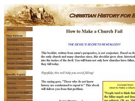 Go to: Christian History For Everyman: Exciting Stories And Interesting Facts
