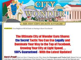 Go to: City Of Wonder Secrets By T Dub