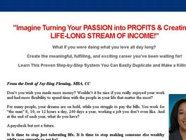 Go to: Turn Your Passion Into Profits Using Social Media!! - 50% Commission