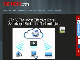 Go to: 27.9% The Most Effective Retail Shrinkage Reduction Technologies