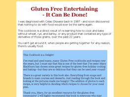 Go to: Gluten-free Get-togethers Cookbook