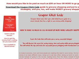 Go to: Coupon Chick Codebook