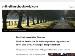 Go to: The Film Production Bible Blueprint