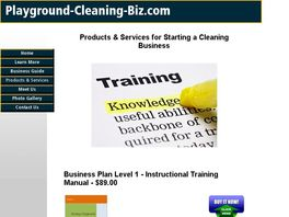 Go to: Starting A Professional Playground Cleaning Business