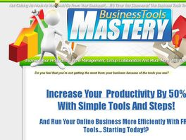 Go to: Increase Your Productivity By 50% with simple Tools and Steps!