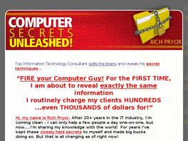 Go to: Computer Secrets Unleashed! 2009