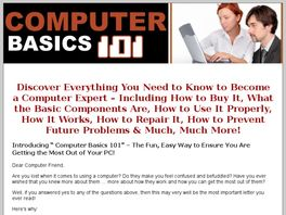 Go to: Computer Basics 101.
