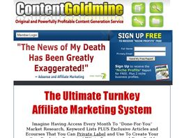 Go to: Content Goldmine