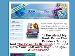 Go to: BookCoverPro.com - Top Selling Software For Printed Book Covers.