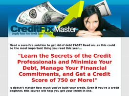 Go to: Credit Fix Master.