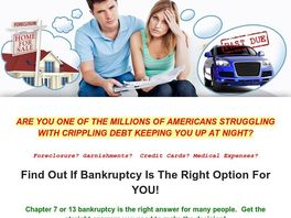 Go to: Bankruptcy Info Options - Should You File Bankruptcy?