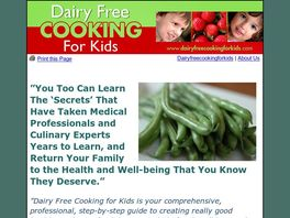 Go to: Dairy Free Cooking For Kids.