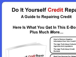 Go to: Do It Yourself Credit Repair E-book