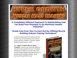 Go to: Hyper Growth Muscle Mass Training