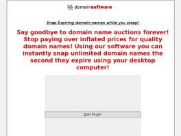 Go to: Enom Expired Domain Name Software