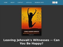 Go to: Leaving Jehovah's Witnesses