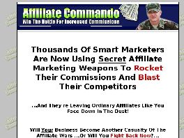 Go to: Affiliate Commando (Secret Marketing Tools.