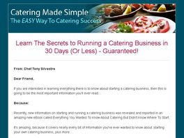 Go to: Everything You Wanted To Know About Catering
