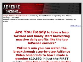 Go to: The Official AdSense Decoded Videos - 2007 Favorite, See Why!