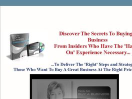 Go to: How To Buy A Business