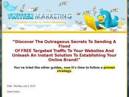 Go to: Twitter Marketing Complete Guide