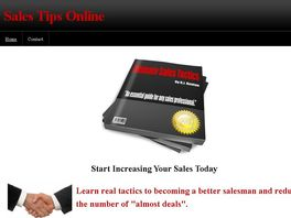 Go to: Ultimate Sales Tactics