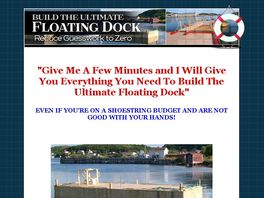 Dock Builders Supply - Floating Dock Plans