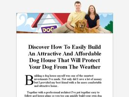 Easy Build Dog House Plans - User Reviews and Ratings