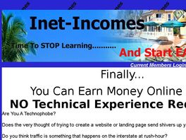 Go to: Inet Incomes Platinum Membership