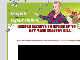 Go to: Insider Secrets To Saving Up To 90 Percent Off Your Grocery Bill!