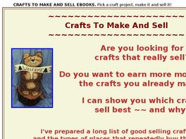 Go to: Crafts To Make And Sell