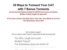 Go to: 39 Ways To Torment Your Cat