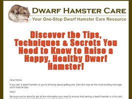 Go to: The Ultimate Guide To Dwarf Hamsters