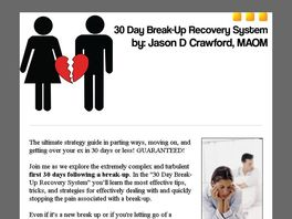 Go to: Getting Over A Breakup/divorce - Breakup Recovery System