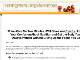Go to: Eat Your Way To Fitness Program