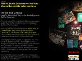 Go to: Inside The Groove: Keys To Becoming A Successful Studio Drummer