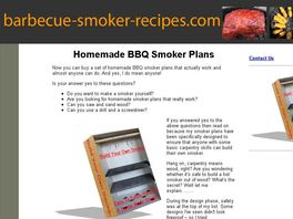 Go to: Build Your Own Barbecue Smoker