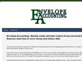 Go to: Envelope Accounting - The Secret Of Money Management