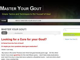 Go to: Gout Sufferer? This Knowledge Can Help You Become Gout-free