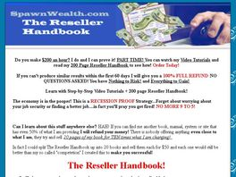 Go to: The Reseller Handbook And Video Tutorials