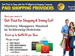 Go to: Mystery Shopping Is Hot Again!