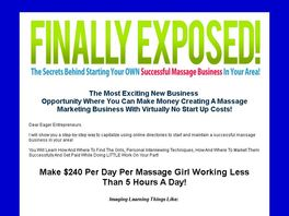 Go to: Start a successful massage business in your area today