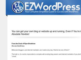 Go to: Ez Wordpress