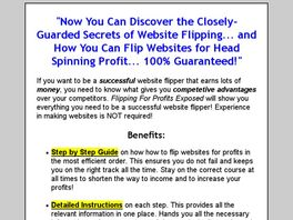 Go to: Flipping For Profits Exposed.